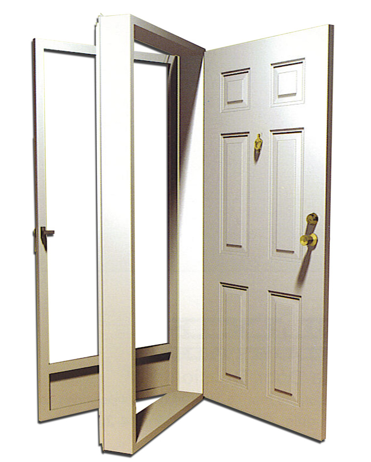 Exterior Storm Doors For Home : Mobile home doors — how to do it yourself dave weston